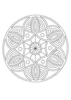 Mandalas para AVANÇADOS : 87 desenhos para colorir de graça