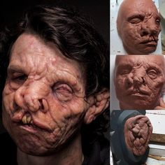 prorenfxIn progress sculpts and Makeup by Mike Marino @prorenfx and Mike Fontaine