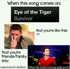 Supernatural eye of the tiger