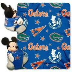 University of Florida Gators Mickey Mouse Baby Blanket Hugger with 40x50 Fleece Throw (College) by NCAA Officially Licensed. $54.99. Item Attributes Size: 40x50