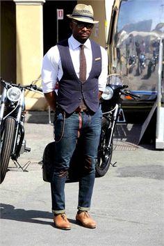 Pitti Immagine street style pt 2 - Vogue.it