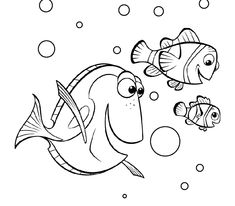 Printable Finding Dory Coloring Pages for Kids. There are a lot of Finding Dory coloring pictures on this page. Choose your Finding Dory coloring picture and co Detailed Coloring Pages, Cool Coloring Pages, Cartoon Coloring Pages, Disney Coloring Pages, Coloring Pages To Print, Printable Coloring Pages, Coloring Sheets, Coloring Books, Colouring