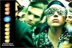 Raquel Zimmermann na Vogue Itália de Nov/11