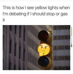 Stop or gas it