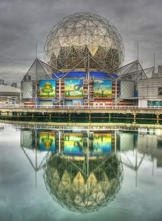 Science World in Vancouver at the east end of False Creek.     Backup all your Files, Photos & Music for Free. Save all your hard work sitting on your PC & handheld units. For Business aswell.
