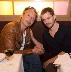 Hugh Dancy and Mads Mikkelsen