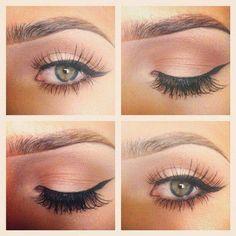 Makeup Tips for Green Eyes Gorgeous Makeup, Love Makeup, Makeup Tips, Beauty Makeup, Makeup Looks, Hair Makeup, Beauty Tips, Makeup Ideas, Beauty Ideas
