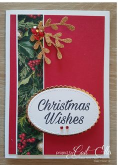 stampin up holiday card ideas 2018 Simple Christmas Cards, Christmas Labels, Homemade Christmas Cards, Merry Christmas To All, Xmas Cards, Homemade Cards, Handmade Christmas, Holiday Cards, Christmas Crafts