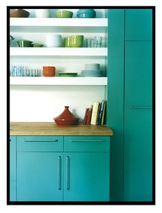 the best kitchen colors ever by decor8, via Flickr