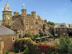 Craig-Y-Nos Castle - Wales; Most Dog Friendly Hotel - caters for Dog Friendly Accommodation in Wales,