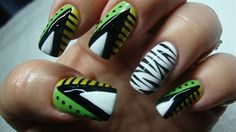 African Theme - Nail Art Gallery by nailsmag.com