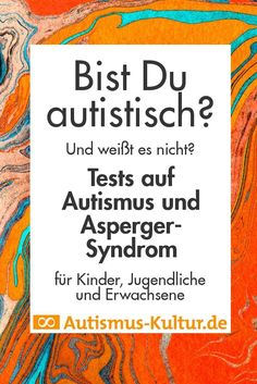 Online-Test auf Autismus und Asperger-Syndrom Online test for autism and Asperger syndrome Syndrome D'asperger, Asperger Syndrome, Psych Test, Online Self, Autism Sensory, Sensory Diet, New Beginning Quotes, Friendship Day Quotes, Young Adults