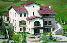 Istanbul Turkey, Villa, Real Estate, Mansions, House Styles, Home Decor, Architecture, Alanya, Tuscany