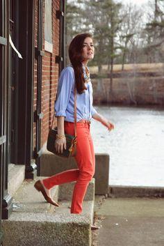 Sarah kjp, always has the cutest, classiest outfits.