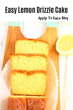 In life there are Lemon Drizzle Cakes and then there is THIS Lemon Drizzle Cake. I hate to poke my head above the parapet but this is a fact Lemon Recipes, Easy Cake Recipes, Lemon Desserts, Delicious Recipes, Easy Lemon Drizzle Cake, Quiche Lorraine Recipe, No Bake Lemon Cheesecake, Cake Ingredients, Savoury Cake