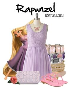 Rapunzel ~Neverlandbound by gallifreyangryffindor on Polyvore featuring polyvore, fashion, style, Kate Spade, Burberry, David Yurman, Betsey Johnson, clothing, neverlandbound and neverlanddisney