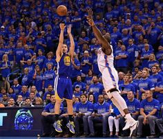 Superb shooting proves the difference in the Western Conference. Warriors off to the Finals. #nbaplayoffs #splashbrothers #fromdowntown