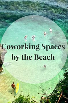 Explore over 100 coworking spaces around the world that offer you the beach front experience you've always dreamed of.  | Cowork at the beach, Digital Nomads by The Beach, Beach Startups