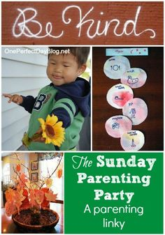 {The Sunday Parenting Party} linky is on! Read some great parenting posts, or link your own!