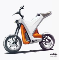 Sketches we like / Scooter / Digital Sketch / Wacom / Transportational / leManoosh
