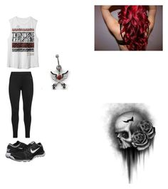 """""""Home!"""" by bvblunaticfringe ❤ liked on Polyvore featuring NIKE, Studio and Revolver"""