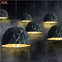New Italian Gothic Design Rock Suspension Lamp Led Pendant Light Art Deco Lighting
