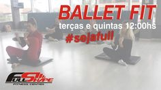 #balletfit Agende sua aula experimental e #sejafull!! www.academiafullshape.com.br #fullshape_nh #sejafull #saude #bemestar #qualidadedevida