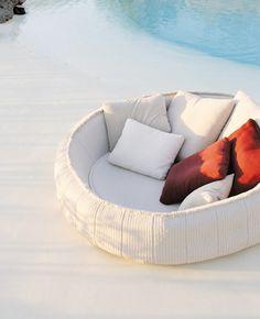 Opçao para cama do terraço ( medo que pareça cama de cachorro)