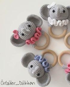 @orguler_dukkan 🙏💞💞 . . Fil denince Hortum önemli 🙈 Tabi koca kulaklarda 😄 - - Henüz bitmediler tabi,boyun fırfırları yapılacak. tarif… Crochet Lovey, Crochet Blanket Patterns, Crochet Dolls, Knit Crochet, Learn To Crochet, Crochet For Kids, Blanket Yarn, Baby Toys, Kids Toys