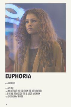 alternative minimalist movie polaroid poster: euphoria by priya
