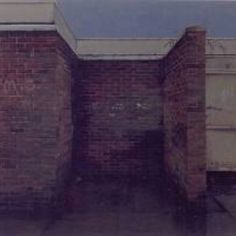 George shaw Dark Mind, Elevation Drawing, Built Environment, City Art, Urban Landscape, Contemporary Paintings, Decay, Moscow, 2d