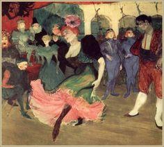 Marcelle Lender Dancing the Bolero in Chilpéric, Henri de Toulouse-Lautrec, 1895–96