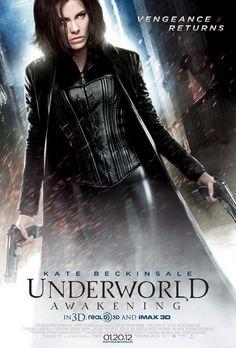 Kate Beckinsale as Selene in Underworld Awakening
