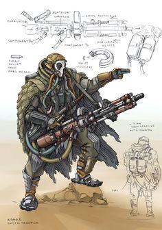Nomad Shock Trooper by TugoDoomER on DeviantArt