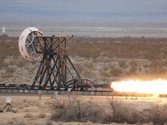 NASA - NASA Fires Up Rocket Sled Hardware at China Lake