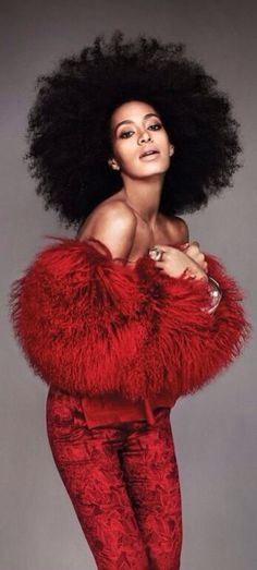 In Red, Solange Knowles