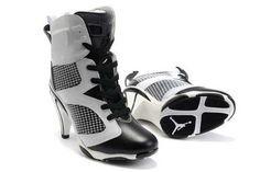 e1bfa7578578e9 size 11 12 13 2011 air jordans 6 vi high heels black white for sale
