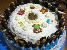 Torta di compleanno buonissima!!! | Ricetta torta