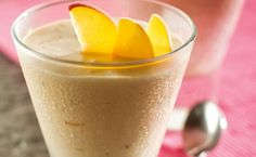 BREAKFAST: Epicure's Peach Smoothie (110 calories/serving)