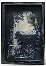 From Sotheby's: Contemporary Art Day Auction, Joseph Cornell, Untitled (Hotel Box with Vermeer Detail) (ca. Painted wood and glass box construction … Joseph Cornell Artwork, Joseph Cornell Boxes, Pastel, Max Ernst, Collage Artists, Assemblage Art, Magritte, Gravure, Art Auction