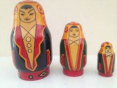 RARE Russian Nesting Dolls Matryoska Aiguel | eBay Traditional Toys, Russian Art, Japanese, Dolls, Baby, Vintage, Design, Style, Japanese Language