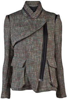 Yigal Azrouel Tweed Jacket