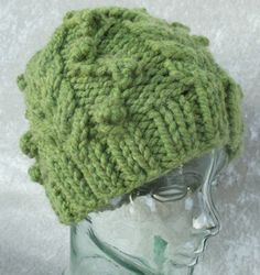 Kelly Knit Hat Pattern (PDF only). $4.00, via Etsy.