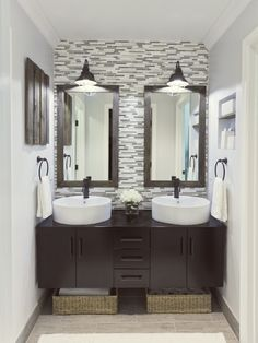 Master Bathroom -- This master bathroom before and after is out of this world!