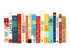 Jane Mount print: Ideal Bookshelf 506: Cooking