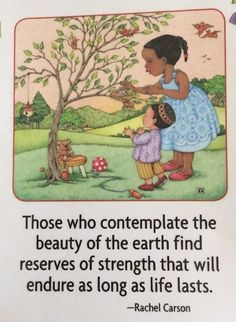 Handmade Fridge Magnet-Mary Engelbreit Artwork -Those Who Contemplate