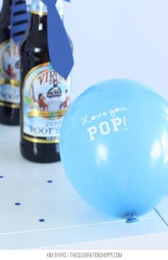 Father's Day Balloons - easy to make!
