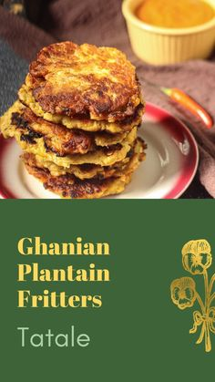 Vegan Snacks, Easy Snacks, Easy Meals, Brunch Recipes, Breakfast Recipes, Dessert Recipes, Gourmet Appetizers, Appetizer Recipes, Plantain Fritters