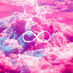 galaxy infinity | Infinity Symbol Galaxy Wallpaper Girly infinity symbol bright