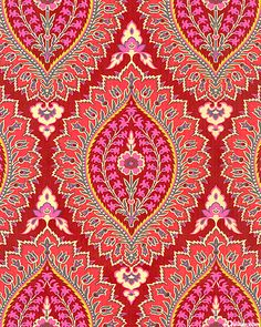 Amy Butler I Imperial Paisley Motifs Textiles, Textile Prints, Textile Patterns, Textile Design, Fabric Design, Pattern Paper, Pattern Art, Pattern Design, Print Design